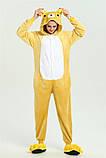 Кигуруми пижама Медведь Рилаккума, кигуруми Медведь Рилаккума для взрослых / Kig - 0046, фото 5