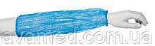 Нарукавники 3 г 40х20 см (100 шт/пач) з поліетилену Колір: білий