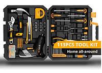 Набор инструментов Deko 112 шт. + аккумуляторная отвертка dkcs3.601