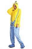 Кигуруми пижама Миньон, кигуруми Миньон для взрослых / Kig - 0048, фото 3