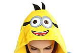 Кигуруми пижама Миньон, кигуруми Миньон для взрослых / Kig - 0048, фото 7