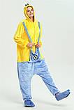 Кигуруми пижама Миньон, кигуруми Миньон для взрослых / Kig - 0048, фото 8
