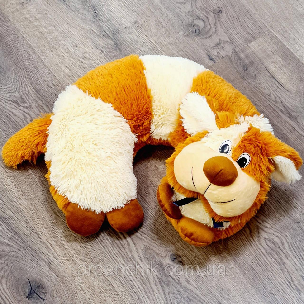 """Іграшка-подушка рогалик травичка """"Собачка"""""""
