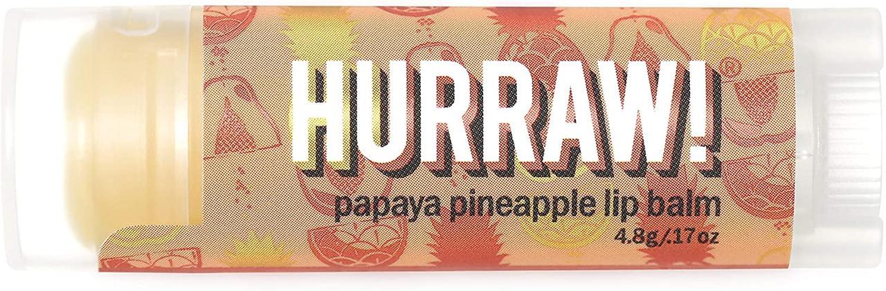 Hurraw! Papaya Pineapple Lip Balm Бальзам для губ 4,8 г.