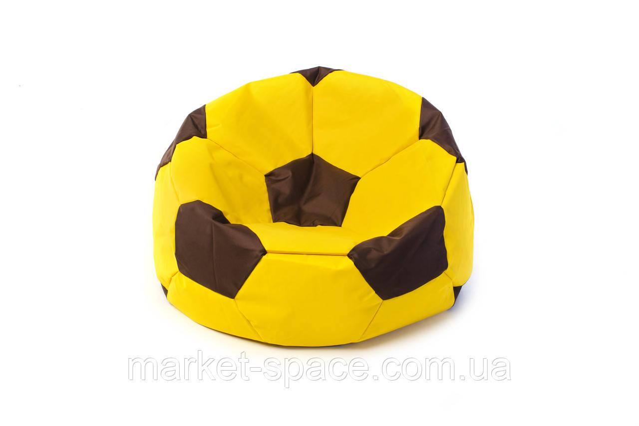 Кресло мяч «BOOM» 60см желто-коричневый