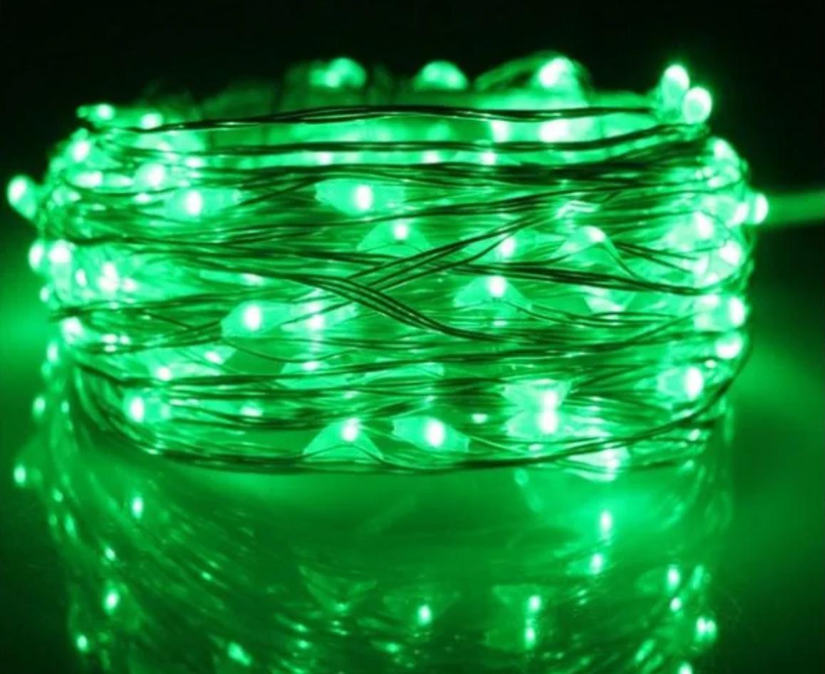 Xmas гирлянда Led Rope light 10M G зеленая 4885  Новогодние гирлянды Рождественские гирлянды