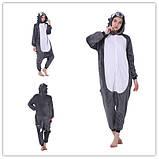 Кигуруми пижама Волк, кигуруми Волк для взрослых / Kig - 0050, фото 2