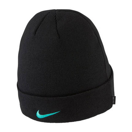 Шапка зимняя Nike Dry FC Barcelona DA1700-010 Черный, фото 2