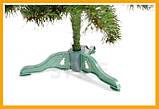 Искусственная ЕЛКА новогодняя СКАЗКА 1.5 метра. ЕЛЬ искусственная СКАЗКА ПВХ 1,5 м. Ялинка новорічна, фото 4