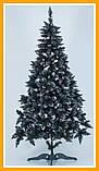 Заснеженная елка 2 м КАЛИНА с Шишкой ЁЛКА искусственная Искусственная 2 м Качественная Искусственная, фото 5