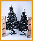 Заснеженная елка 2,2 м КАЛИНА с Шишкой ЁЛКА искусственная Искусственная 2.2 м Качественная, фото 4