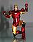 Набор фигурок Marvel, Железный Человек 3в1, 14 см - Iron Man Suits pack, фото 4