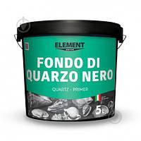 Кварцовый грунт Element Decor Decor Fondo di Quarzo Nero чёрная 5 л