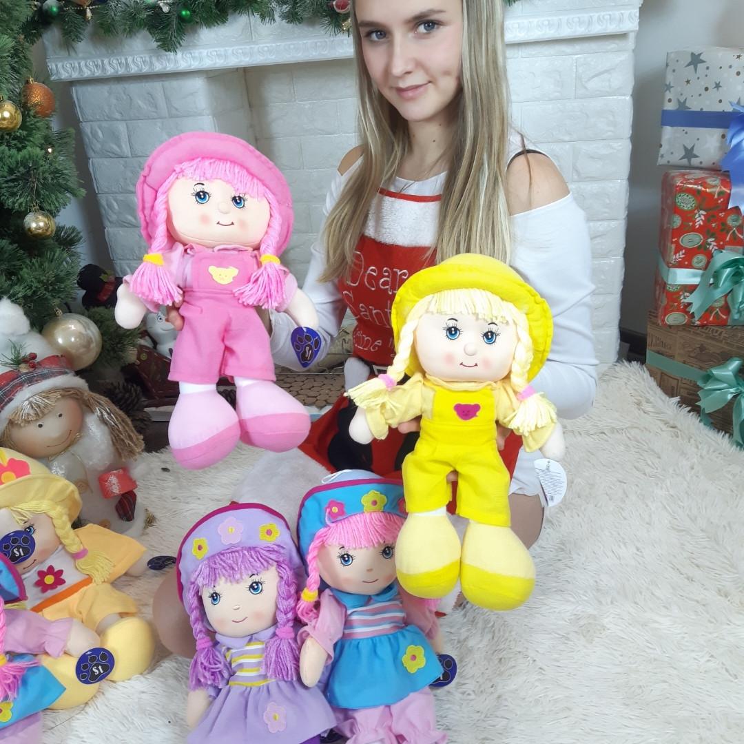 Текстильная кукла расказывает стих