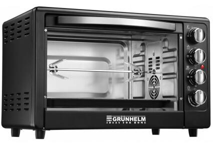 Электрическая печь Grunhelm - GN50ARC (черный) 50л, 2.2 кВт