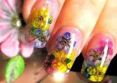 Материалы для декора ногтей