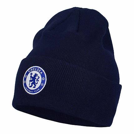 Шапка Nike Chelsea FC Dry Beanie DA1699-498 Темно-синий, фото 2