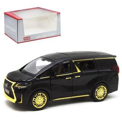 """Машина """"Lexus"""", черный с золотистым М929М-1"""