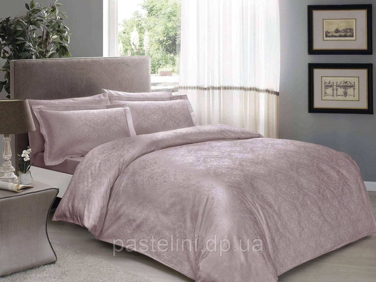 TAC Daria lilla жаккардовый комплект постельного белья