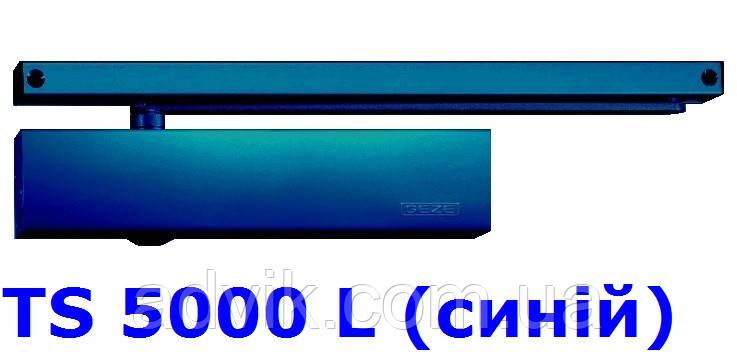 Доводчик Geze TS 5000 L з ковзною тягою (синій)