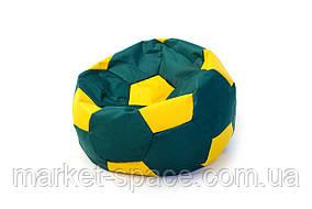Кресло мяч «BOOM» 60см зелено-желтый, фото 2