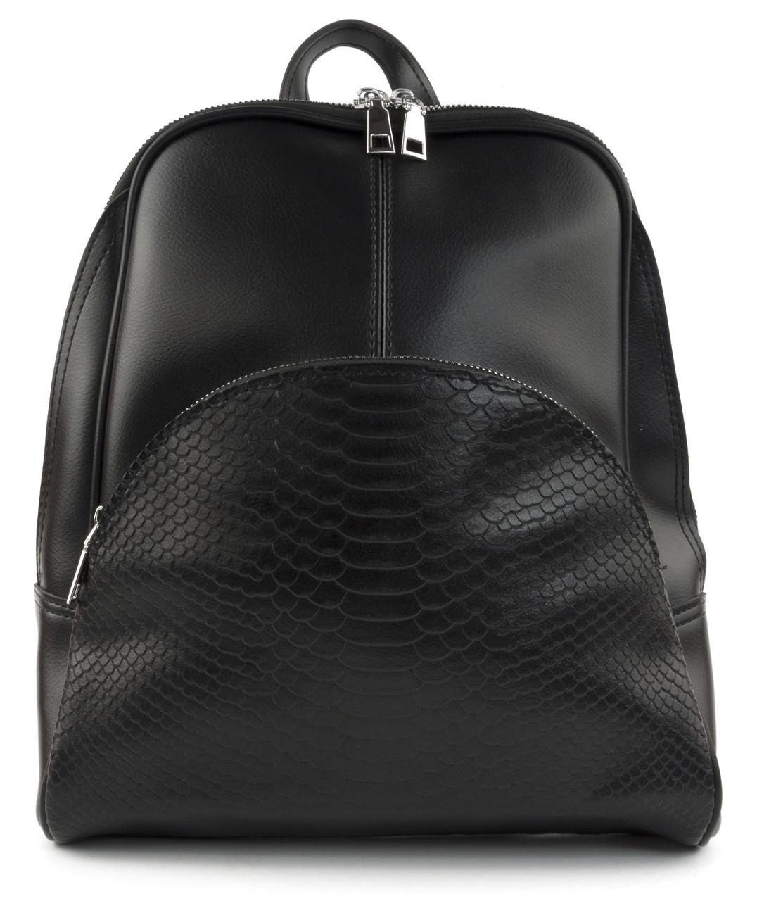 Женский стильный  рюкзак  art.3320 черный