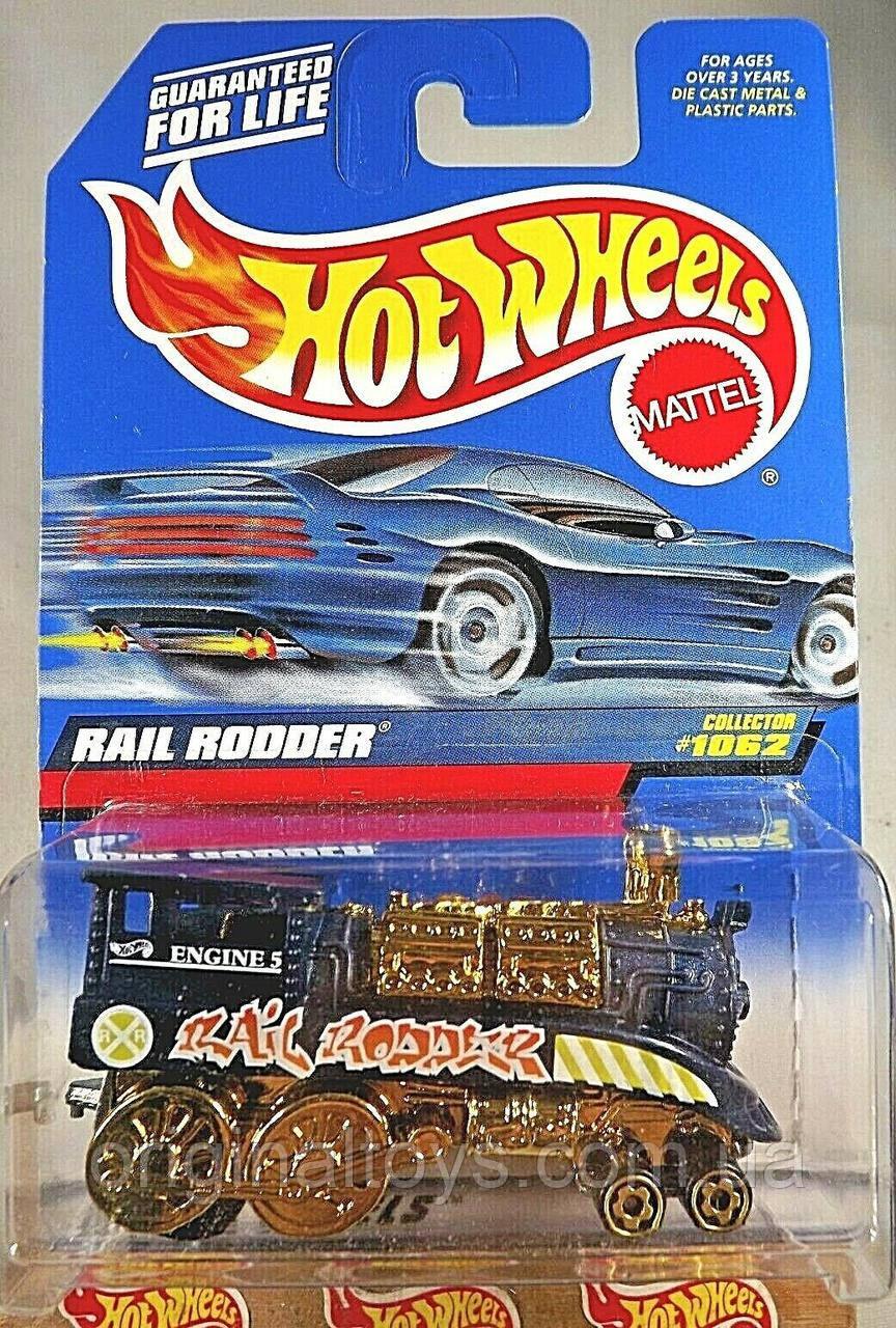 Базовая машинка Hot Wheels Rail Rodder