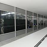 Алюминиевые перегородки под все виды заполнения, фото 3