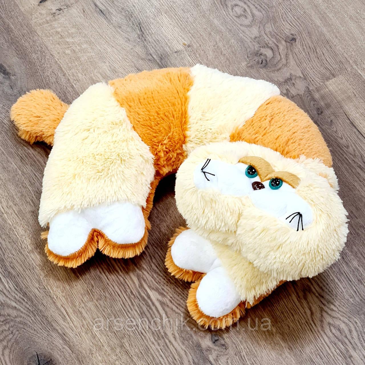 """Іграшка-подушка рогалик травичка """"Кіт Гарфілд"""""""
