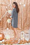 Платье серое, фото 2