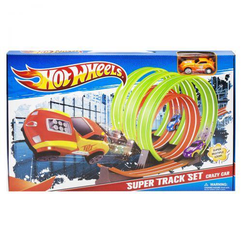 Hot Wheels трек Хот вилс Multiple Loop и машинка Hot Wheels