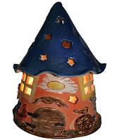 """Соляная лампа светильник """"Дом гнома"""" 3,7 кг"""