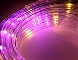 Xmas гирлянда PIPE 10M 100Led M-3 Мультицветная USB (6 режимов) Уличная 7284 Новогодняя гирлянда, фото 4