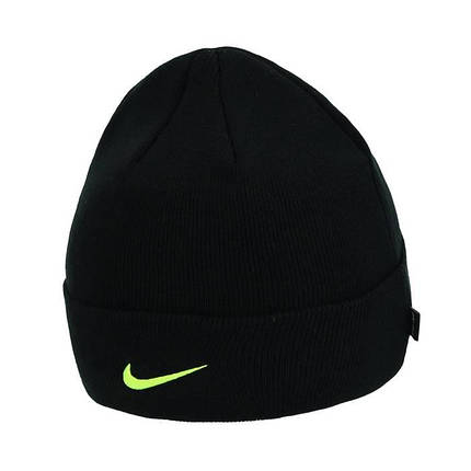 Шапка Nike Atletico Madrid Beanie Dry DA1698-010 Черный, фото 2
