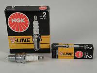 Свечи зажигания NGK V-Line №2 (эл.зажиг.) ВАЗ 2108-2115,1102 (1 шт.)