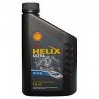 SHELL  5W40 Helix Diesel Ultra (сер.) 1 л.(шелл)
