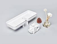 Портативная полочка для ванной комнаты Xiaomi Mijia Dabai white, фото 8