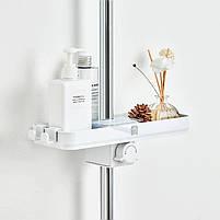 Портативная полочка для ванной комнаты Xiaomi Mijia Dabai white, фото 4