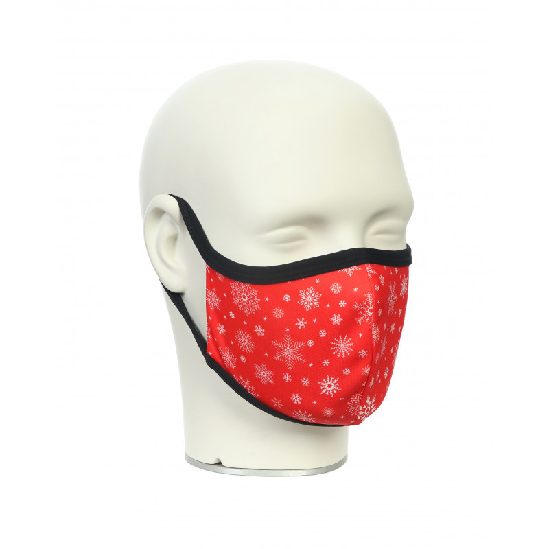Маска для лица Noname WS FACE MASK CHRISTMAS RED 2