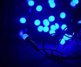 Светодиодная Гирлянда XMas LED 200 B-4 Синяя (2981) Новогодние гирлянды, фото 3