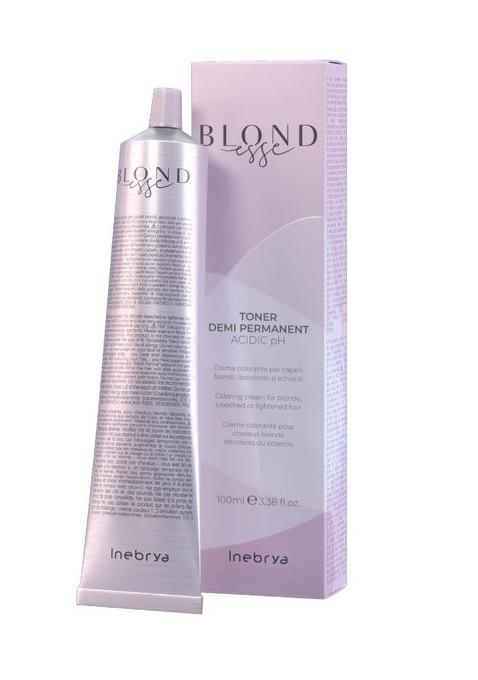 Тонирующая краска для волос Inebrya Blondesse - DT08 Peach Pearl