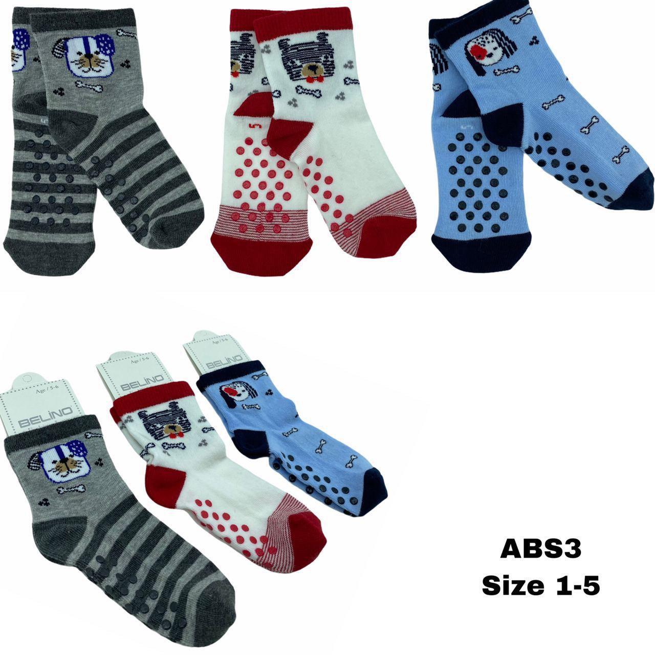 Детские демисезонные носочки для мальчиков и девочек ( мин. заказ 12 шт. в уп. ), 3-4 лет (98/104 см рост)