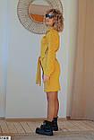 Платье горчичное, фото 2