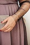 Платье нарядное красивое ассиметричное, батал, разные цвета р.50-52,54-56,58-60 Код 9778Е, фото 4