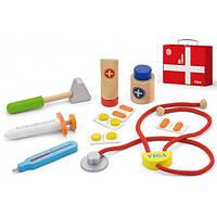 Viga Toys Набор посуды Viga Toys Чемоданчик доктора (50530)