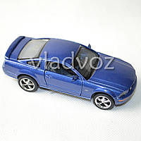 Машинка Ford Mustang GT 2006 1:38 метал синяя