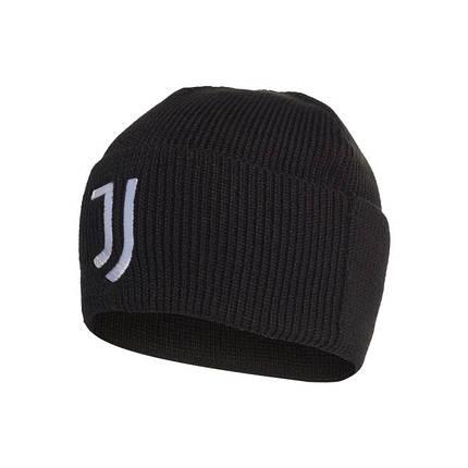 Шапка мужская Adidas Juventus Woolie FS0230 Черный, фото 2