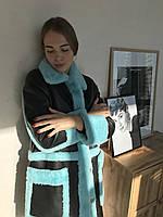 Пальто-дубленка женская S,M, фото 1