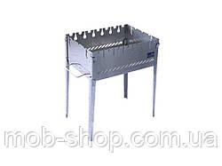 Раскладной мангал чемодан на 6 шампуров из нержавеющей стали от производителя