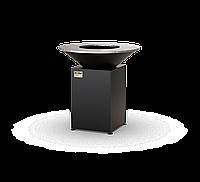 Гриль-мангал, барбекю HOLLA GRILL чёрный, закрытая тумба мангал барбекю для дачи